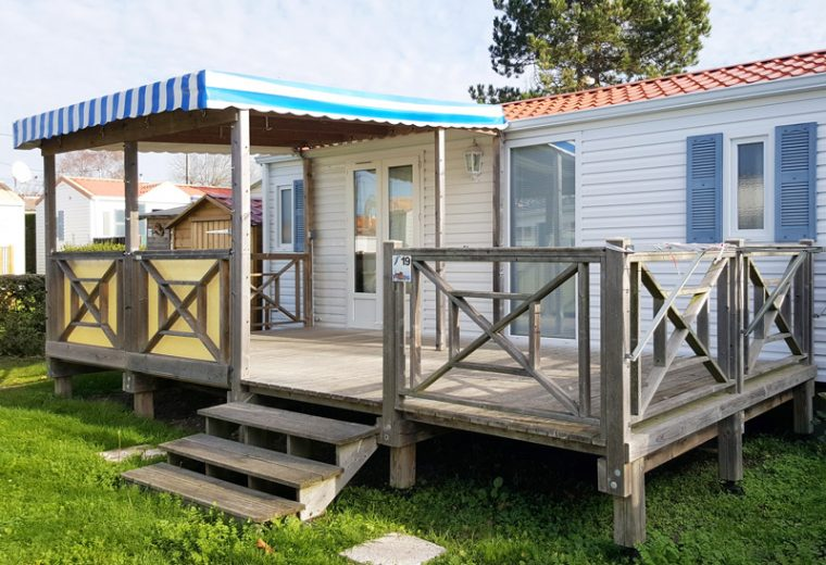 Location mobil-home Camping Prefailles