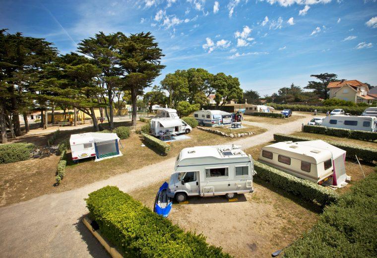 Location emplacement camping car à Préfailles