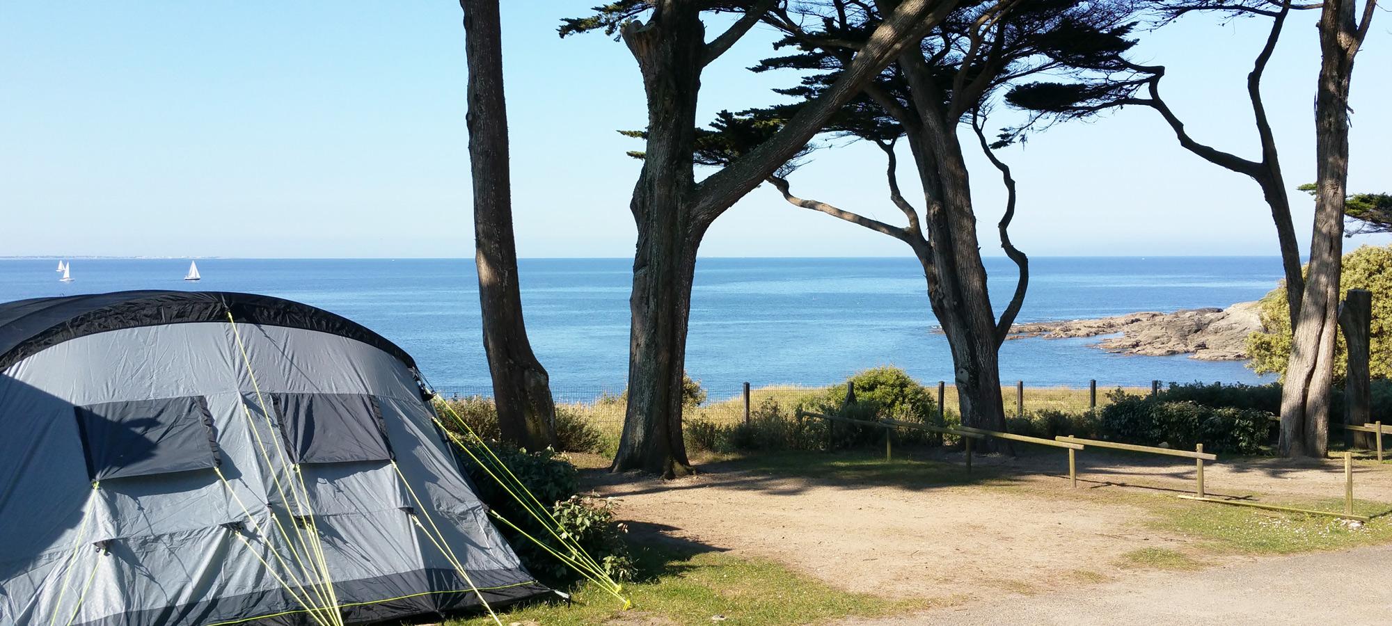 Camping Loire Atlantique en bord de mer