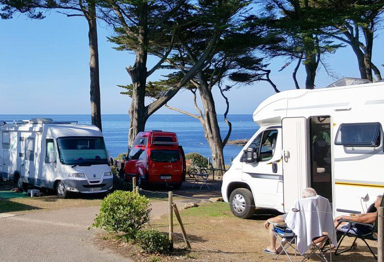 Emplacement car camping sur la Pointe Préfailles